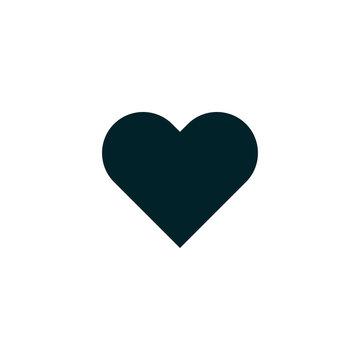 Love symbol. heart icon vector, solid logo illustration