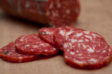 jerked Italian salami