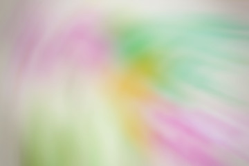 Abstract colorful watercolor with a gentle blur for background.
