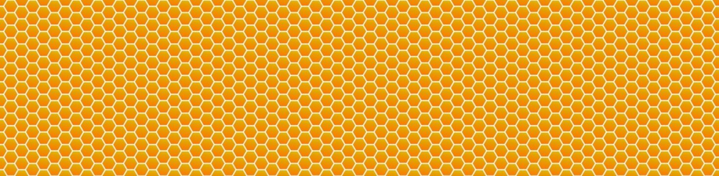 Vektor Honey Comb background patern, repeatable