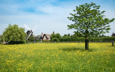 Bourn Windmill, Cambridgeshire, England