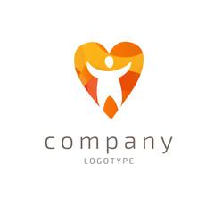 Logo design abstract progress vector template
