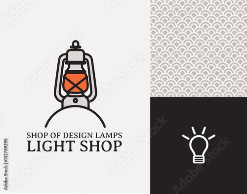 logo pour une boutique de luminaire designer de lapes o d corateur int rieur immagini e. Black Bedroom Furniture Sets. Home Design Ideas