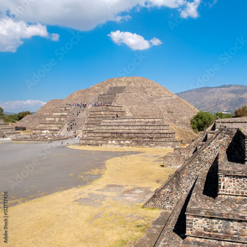 """The Pyramid Of The Moon And Other Ancient Ruins At"