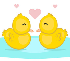 Couple of duck vector