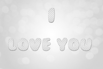 candy latters u are sweet on gray background