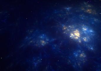 blue universe galaxy wallpaper