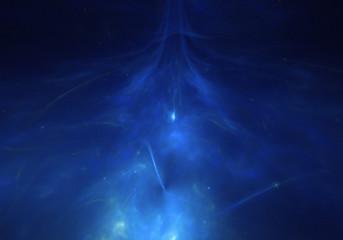 blue universe space wallpaper