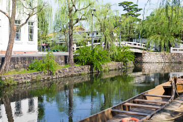 River in Kurashiki city