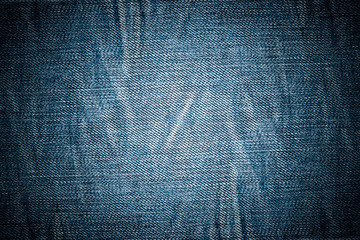 Old jeans background