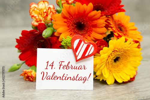 Februar Blumen Zum Valentinstag
