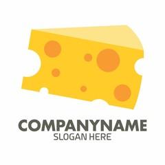 Cheese logo icon vector Template