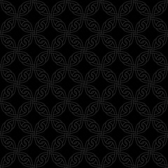Neutral Seamless Celtic Knotwork Pattern.