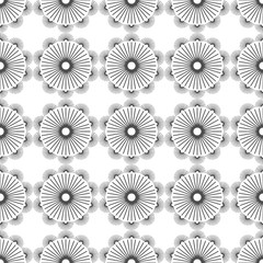 seamless background with shock absorbers and springs