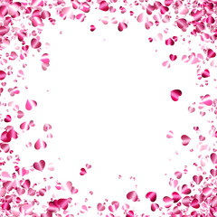 Fototapete - Love valentine's background with hearts.