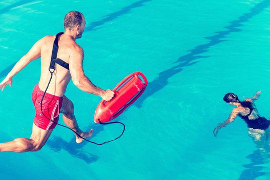 Lifeguard rescue course