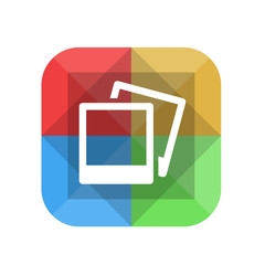 Origami App Button