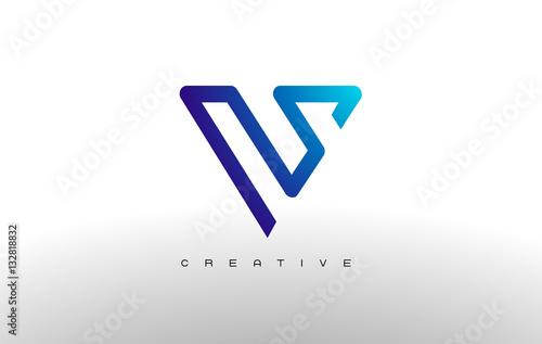 Letter V Monogram Logo Design