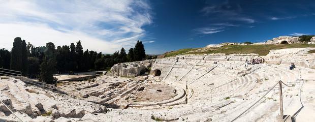 Amphitheater - Siracusa Fototapete