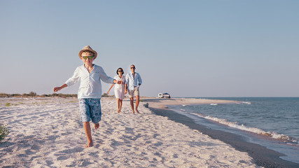 Lifestyle travel family concept image