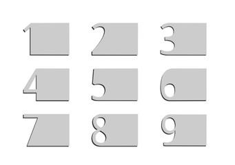 Etykiety cyfry