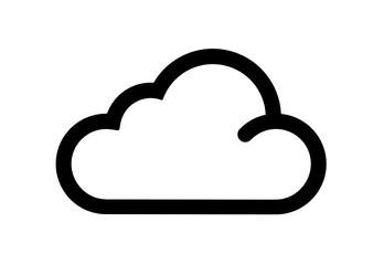 chmura ikona