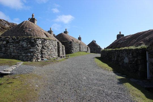 Blackhouses auf Lewis, Äußere Hebriden