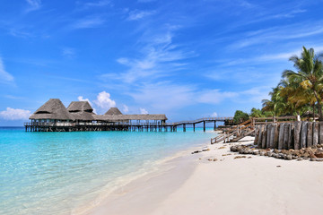 Spoed Fotobehang Zanzibar Paradise of Zanzibar