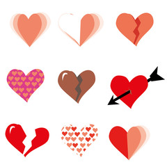 all about love, hearts and valentine