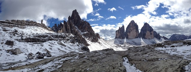 View from Rifugio A.Locatelli