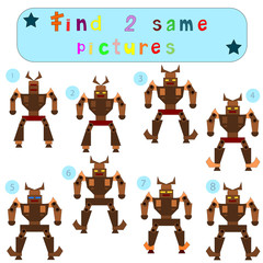 """Children Logic develops an educational game """"Find 2 same picture"""