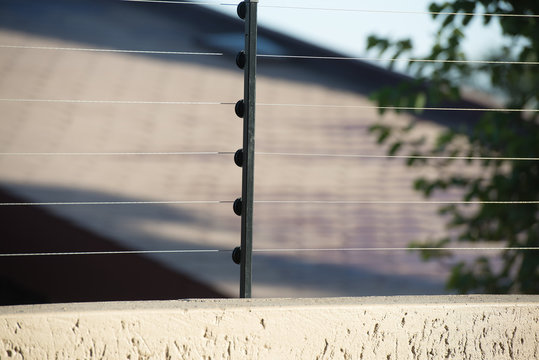 Electric fence for protect board