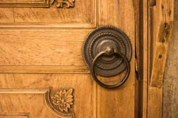 Hand Knock Wooden Traditional Javanese Door