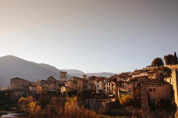 View of besalu town