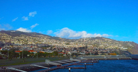 Funchal, Madeira, panoramic view, Portugal