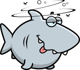 Cartoon Drunk Shark