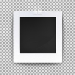 Empty photo backdrop or old blank frame