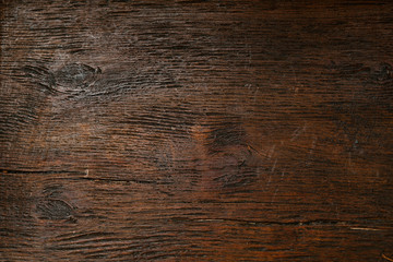 Beautiful texture of natural aged wood closeup. Background, blank space for designer, vintage style