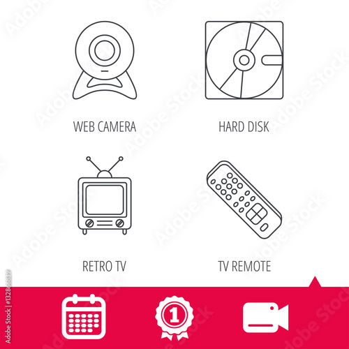 Achievement and video cam signs web camera retro tv and for Camera tv web