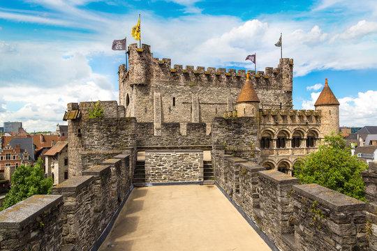 Castle Gravensteen in Gent