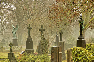 Friedhof, Kreuze