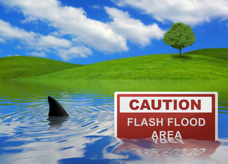 Flash Flood Area