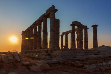 Temple of Poseidon - Cape Sounion - Greece
