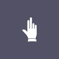 simple hand icon design