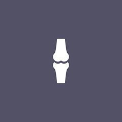 knee joint bone icon