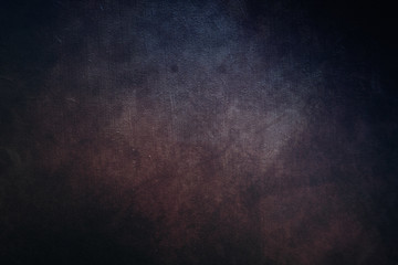 Dark old grunge canvas texture vintage background