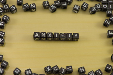 The emotion of anxiety as a state