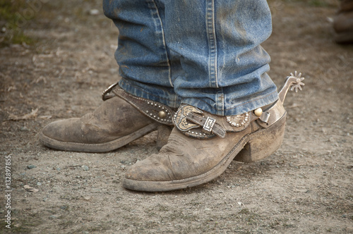 Worn Out Cowboy Boots