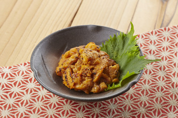 焼きウニ(一品料理)