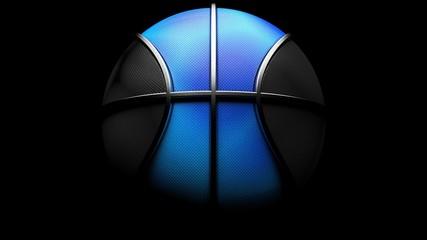 Basketball. 3D illustration. 3D CG. High resolution.